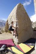 Rock Climbing Photo: Evan Martin on the Unnamed Arete