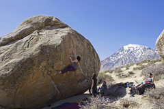Rock Climbing Photo: Bomber flakes and plates the whole way...