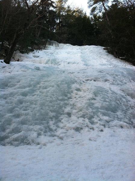 Rock Climbing Photo: North End Slab, late season