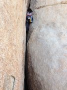 Rock Climbing Photo: between 2 rocks and a hard place