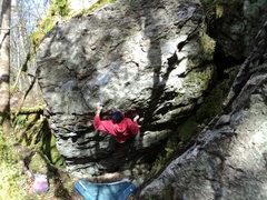 Rock Climbing Photo: Hard project