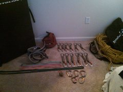 Rock Climbing Photo: My gear