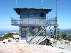 Rock Climbing Photo: The Lookout on top of Shuteye.