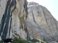 Rock Climbing Photo: Climber on, atmosphere. 5.12c.
