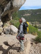 Rock Climbing Photo: Sinks Canyon Wyoming