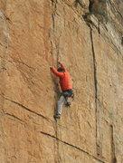 Rock Climbing Photo: Eleven Heaven (Main) Wall, Milagrossa Canyon, AZ.