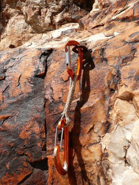 Rock Climbing Photo: Trinket