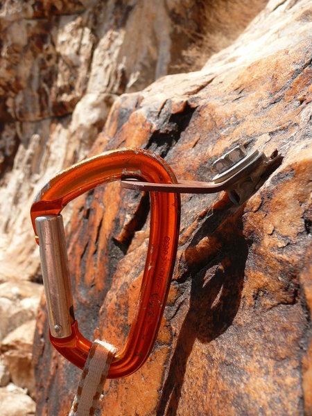 Rock Climbing Photo: Trinket, detail