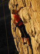 Rock Climbing Photo: Marshall's Madness on TR, Seneca Rocks