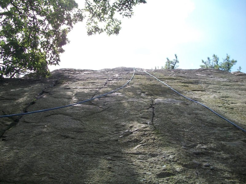 Rock Climbing Photo: Crag 3.  Worth seeking out at least once.