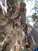 Rock Climbing Photo: fun pulling with the best crew