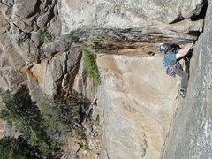 Rock Climbing Photo: A little bit of libacking.