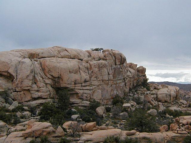 Rock Climbing Photo: Snickers (N. Face), Joshua Tree NP