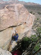 Rock Climbing Photo: K.D. Supreme (V4), Joshua Tree NP  Photo by Tyler ...