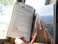 AZ Highways guidebook with Oak Flat Campground