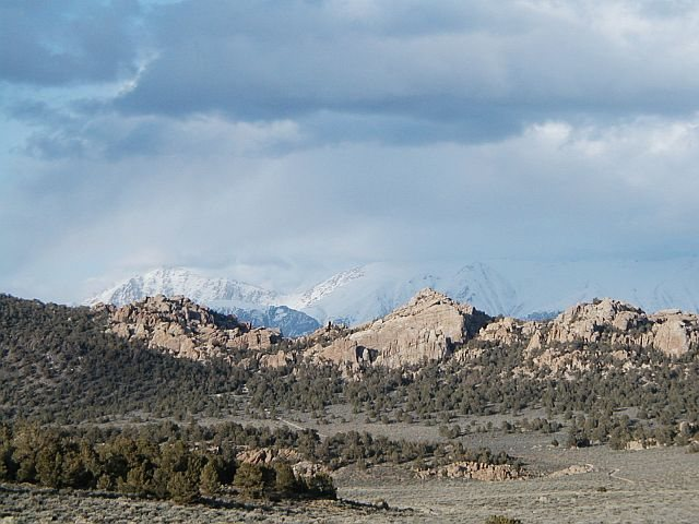 Benton Crags and White Mountains, Sierra Eastside