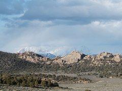 Rock Climbing Photo: Benton Crags and White Mountains, Sierra Eastside