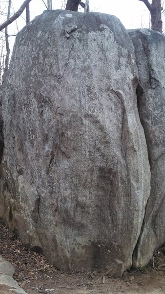Rock Climbing Photo: The Scoop (V5) and Anger is a gift (V9)