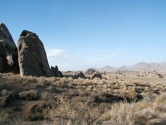 Rock Climbing Photo: Alabama Hills, Lone Pine