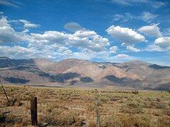 Rock Climbing Photo: Highway 395 scenery, Lone Pine