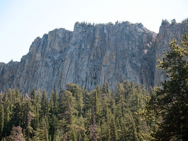 Mammoth Crest from McLeod Lake, Mammoth Lakes Basin