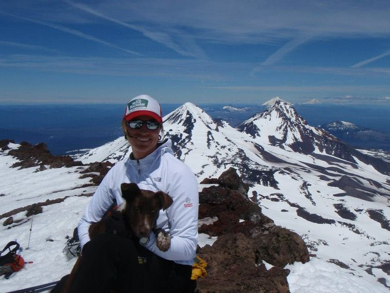 S Sister summit<br> 2012 June ski ascent