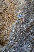 Rock Climbing Photo: Rappelling the route