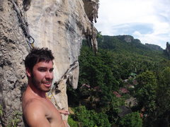 "Rock Climbing Photo: Hot and sweaty after ""Caroline's Last Day&quo..."