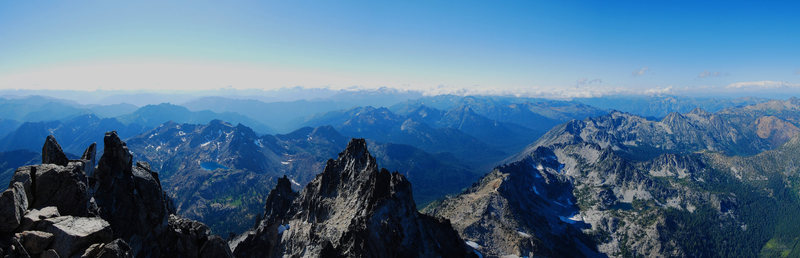 Rock Climbing Photo: little panorama from the top
