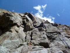Rock Climbing Photo: Near the bottom.