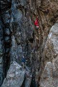 Rock Climbing Photo: Repo Man .12d. Emeralds Gorge, CA.