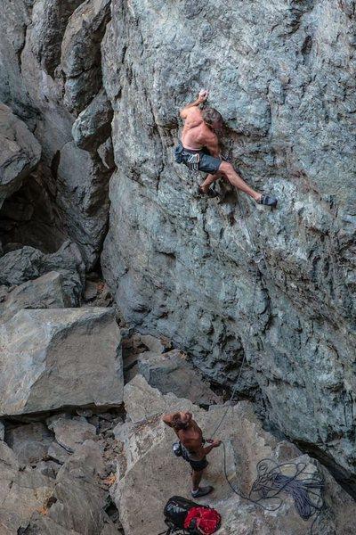 Super Alpine Route Direct .11a. Emeralds, CA.
