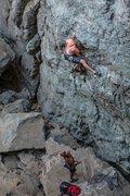 Rock Climbing Photo: Super Alpine Route Direct .11a. Emeralds, CA.
