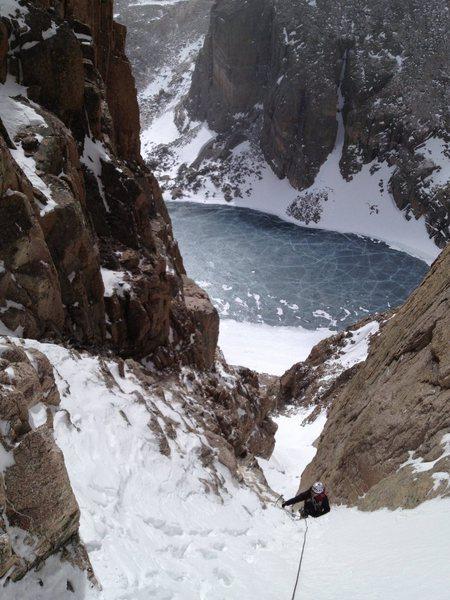 Rock Climbing Photo: Martha, 3/22/13.