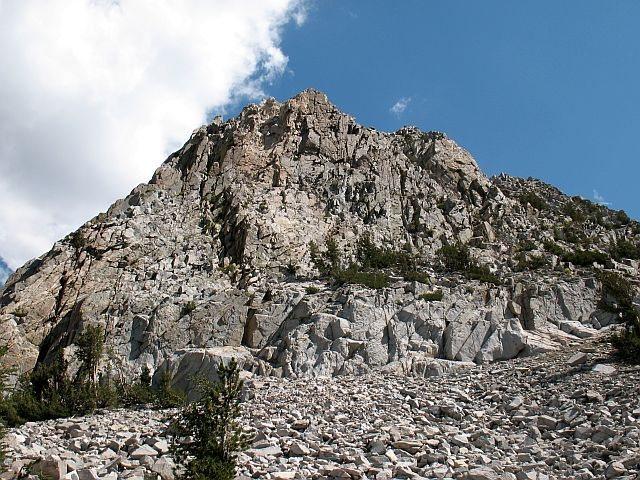 Rock Climbing Photo: Crystal Crag, Mammoth Lakes Basin