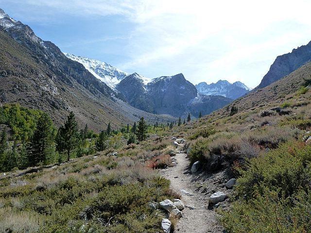 Rock Climbing Photo: Big Pine Creek South Fork Trail, Sierra Eastside