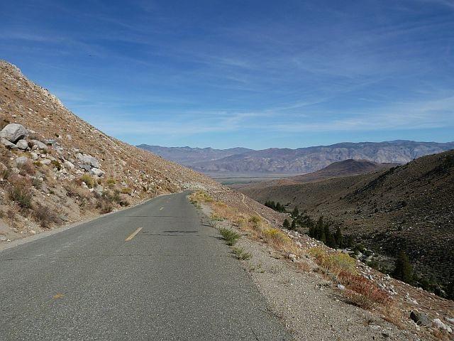 Glacier Lodge Road, Big Pine Canyon