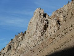 Rock Climbing Photo: Cardinal Pinnacle, Bishop Creek Area