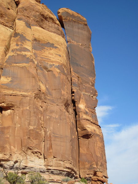 the unclimbed left side