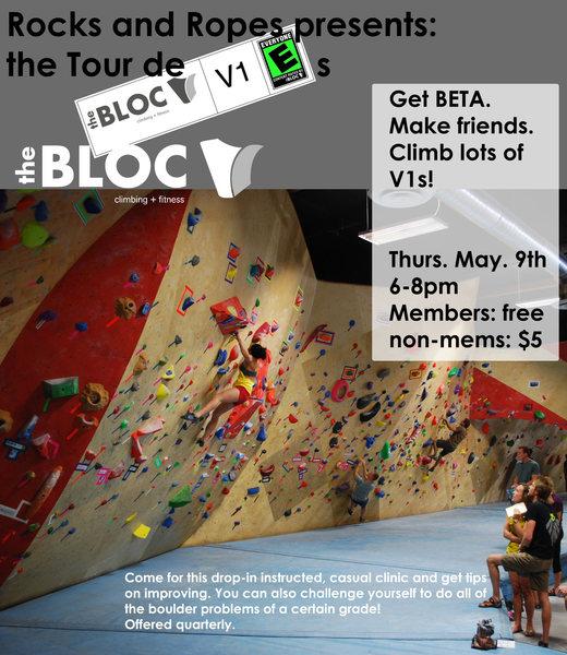 Rock Climbing Photo: tour de V1s