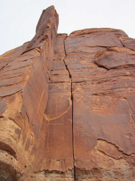 Rock Climbing Photo: double bow on left; beardsley on right