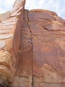 Rock Climbing Photo: Beardsley crack