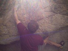 Rock Climbing Photo: Something in Tuolumne Meadows