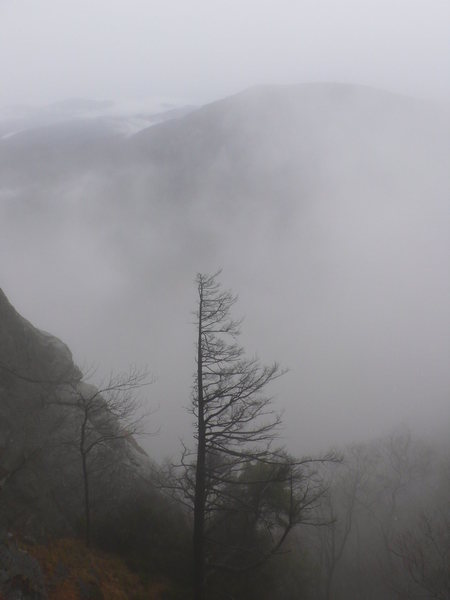 Rock Climbing Photo: mid December storms
