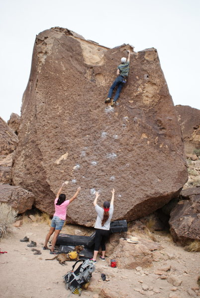 Rock Climbing Photo: Topping out!