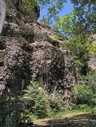 Rock Climbing Photo: John Barleycorn on left