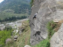 Rock Climbing Photo: Climbing in the Himalayas...