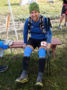 Rock Climbing Photo: Still smiling at the 85th mile despite having my k...