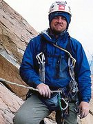 Rock Climbing Photo: Happy after the long hard work of equipping and cl...