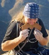 Rock Climbing Photo: Piggy bars are dirtbag climber's food of choice, P...